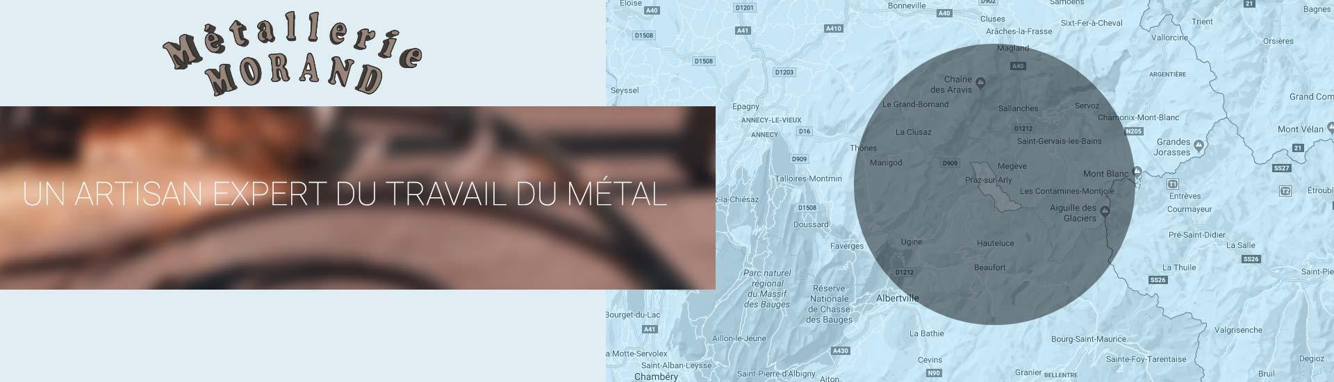 escaliers métalliques à Praz-sur-Arly | Entreprise Morand