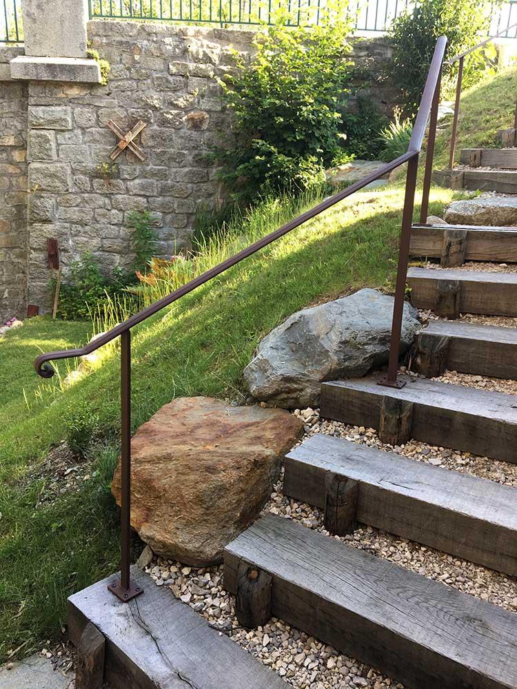 escaliers en métal à Praz-sur-Arly | Entreprise Morand